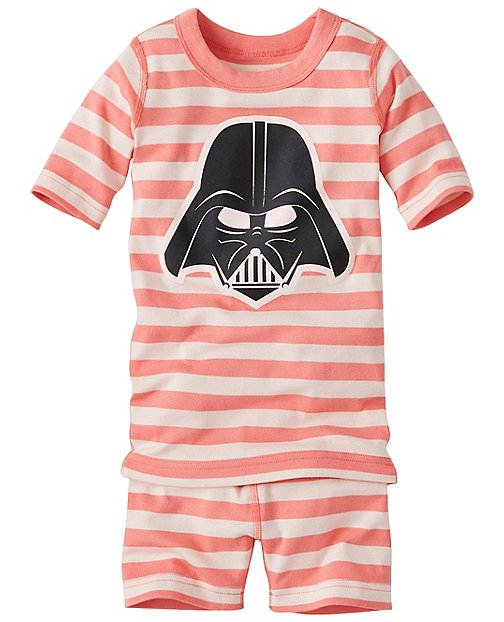 Kids Star Wars™ Short John Pajamas In Organic Cotton by Hanna Andersson