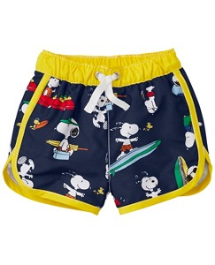 Peanuts Swimmy Shorts with UPF 50+ by Hanna Andersson