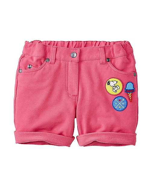 Peanuts Boyfriend Shorts by Hanna Andersson