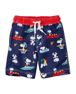 Peanuts Swim Shorts With UPF 50+ by Hanna Andersson