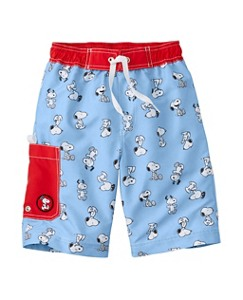 Peanuts Board Shorts With UPF 50+ by Hanna Andersson