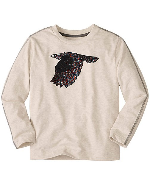 Boys Mixed Media Art Tee In Supersoft Jersey by Hanna Andersson
