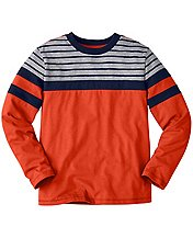 Boys Supersoft Stripe Around Jersey by Hanna Andersson