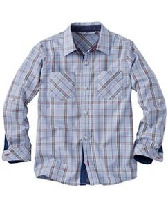 Boys Summerhouse Plaid Shirt by Hanna Andersson