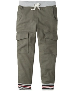 Slim Cargo Sweats by Hanna Andersson