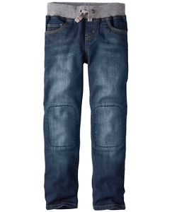 Sport Waist Slim Jeans by Hanna Andersson