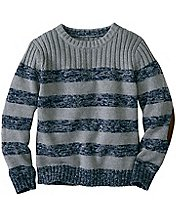Boys Keeper Cotton Crewneck Sweater by Hanna Andersson
