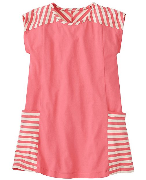 Girls Stripey Pocket Dress by Hanna Andersson