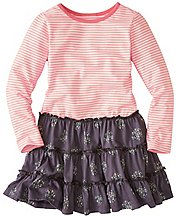Girls Stripey Mix It Up Dress by Hanna Andersson