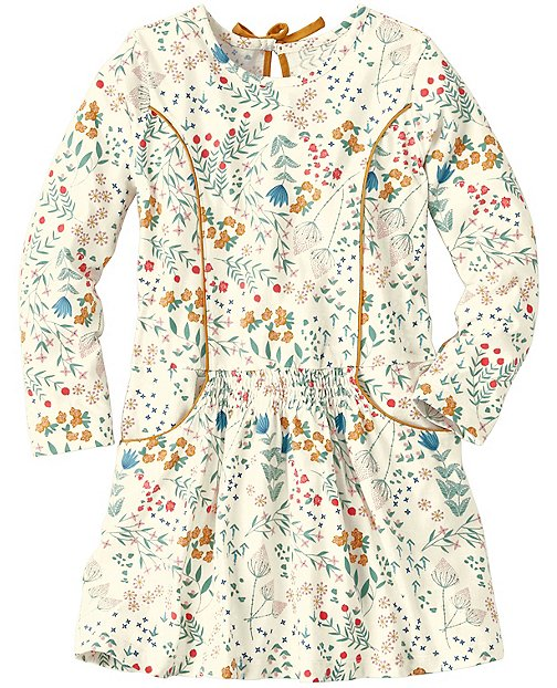 Girls Smocked Flora Dress by Hanna Andersson