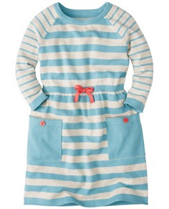 Girls Stripe Cozy Sweater Dress by Hanna Andersson