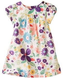 Petal Poplin Tunic Dress by Hanna Andersson