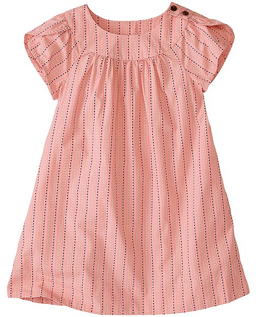 Girls Petal Poplin Tunic Dress by Hanna Andersson