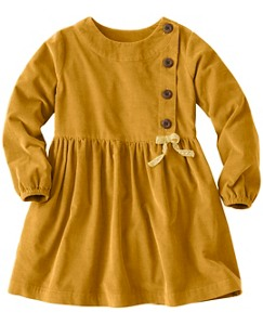 Girls Pincord Peasant Dress by Hanna Andersson