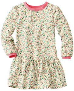 Girls Flower Happy Dress In Challis by Hanna Andersson