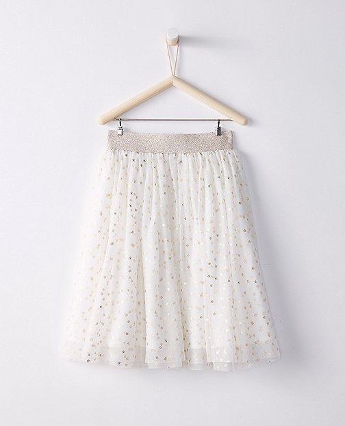 Girls Tea Length Tulle Skirt by Hanna Andersson