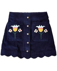 Girls Folklore Pocket Skirt by Hanna Andersson