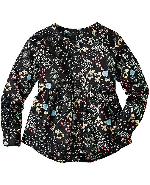 Girls Flora Popover Top by Hanna Andersson