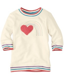Embroidered Sketchbook Sweatshirt by Hanna Andersson