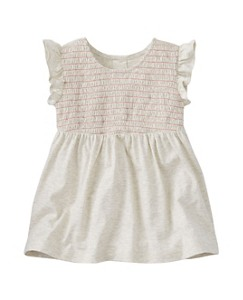 Girls Smocked Popover Top by Hanna Andersson