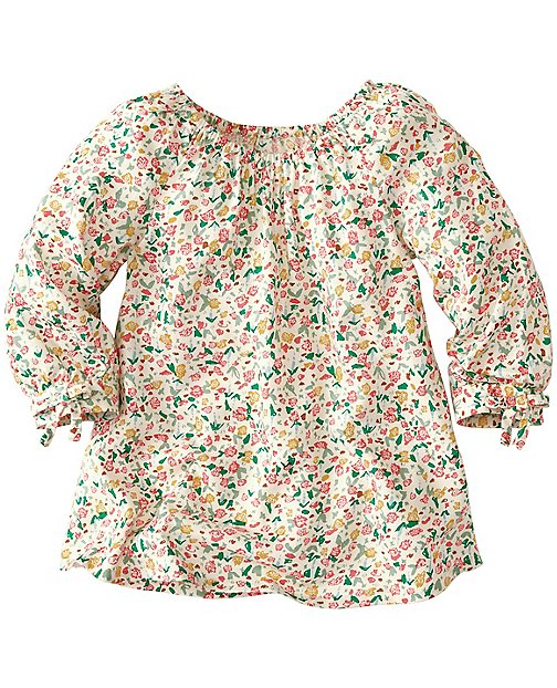 Girls Breezy Meadow Top In Challis by Hanna Andersson