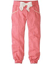Girls Wrap Pocket Sweats In 100% Cotton  by Hanna Andersson