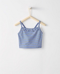 Girls Crossback Tankini Top by Hanna Andersson