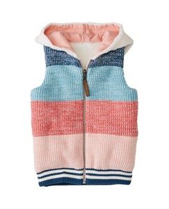 Girls Reversible Quilted Puffer Vest by Hanna Andersson