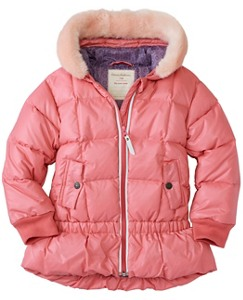 Girls Down Puffer Jacket by Hanna Andersson