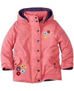 Girls Journey's End Quilted Jacket by Hanna Andersson