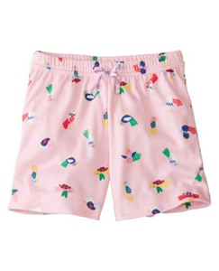 Girls Sleep Shorts In Dreamy Poly by Hanna Andersson