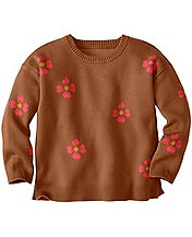 Girls Skitter Scatter Intarsia Sweater by Hanna Andersson