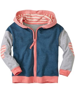 Girls Slouchy Hoodie In 100% Cotton by Hanna Andersson