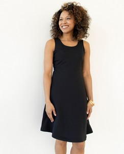 Women's Right Now Dress In French Terry by Hanna Andersson