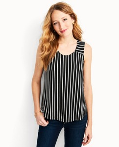Women's Stripe Tank In Stretch Jersey by Hanna Andersson