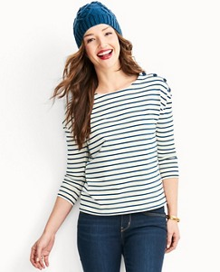 Women's Luxe Jersey Fisherman Tee by Hanna Andersson