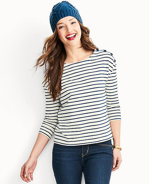 Luxe Jersey Fisherman Tee by Hanna Andersson