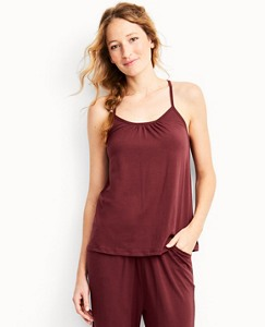 Crossback Sleep Tank In Stretch Jersey by Hanna Andersson