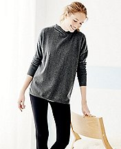 Soft Merino Sweater Hoodie by Hanna Andersson
