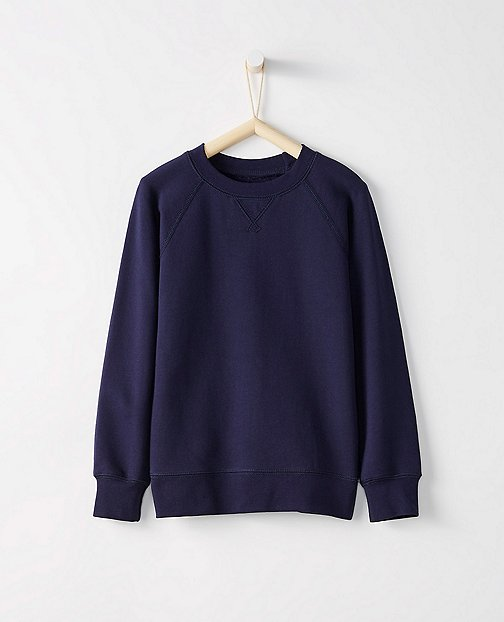 Kids Very Güd Sweatshirt In 100% Cotton by Hanna Andersson