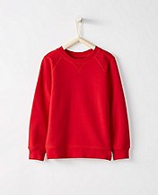 Bright Kids Basics Sweatshirt In 100% Cotton by Hanna Andersson