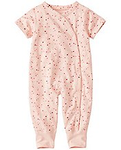Baby Snuggle Romper In Organic Pima Cotton by Hanna Andersson