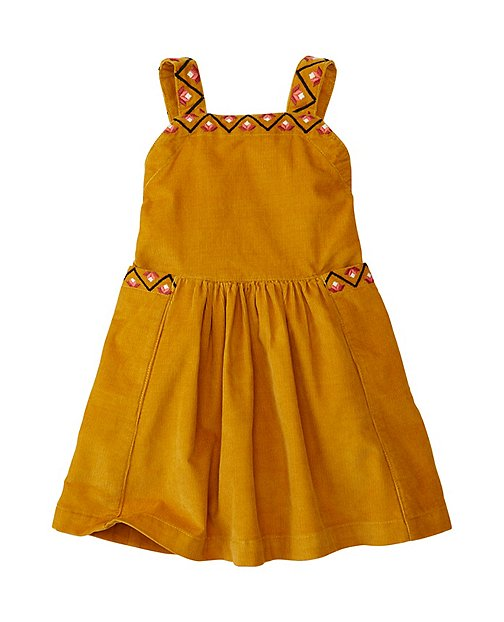 Baby Embroidered Pincord jumper | Baby Girl Dresses