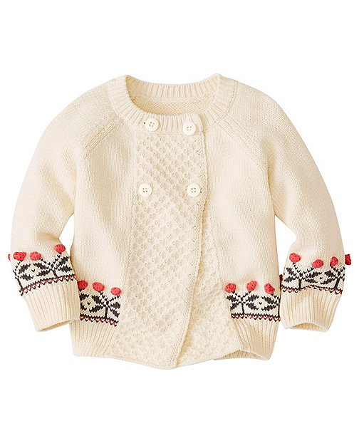 Baby Button Top Cardigan by Hanna Andersson