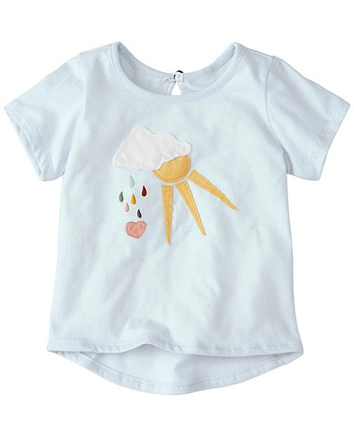 Hello World Tee in Supersoft Jersey by Hanna Andersson