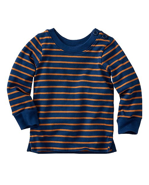 Baby Luxe Jersey Fisherman Tee by Hanna Andersson