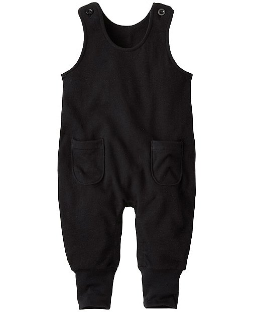 Baby Solid Move Romper In French Terry by Hanna Andersson