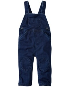 Supersoft Overalls In Stretch Denim by Hanna Andersson