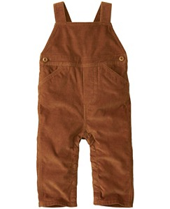 Baby Crossback Cord Overalls by Hanna Andersson