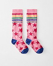 Girls Pitter Pattern Knee Socks by Hanna Andersson